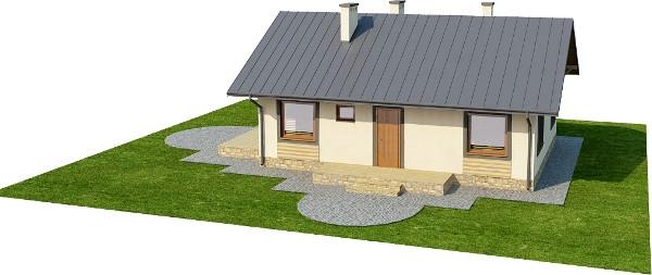 Projekt domu DM-6255 N - model