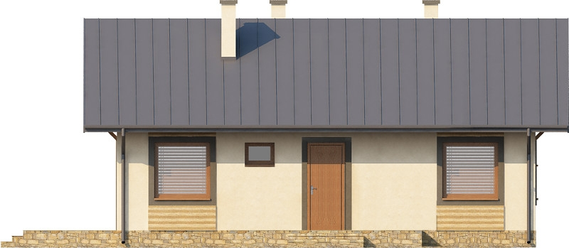 Projekt domu DM-6255 N - elewacja