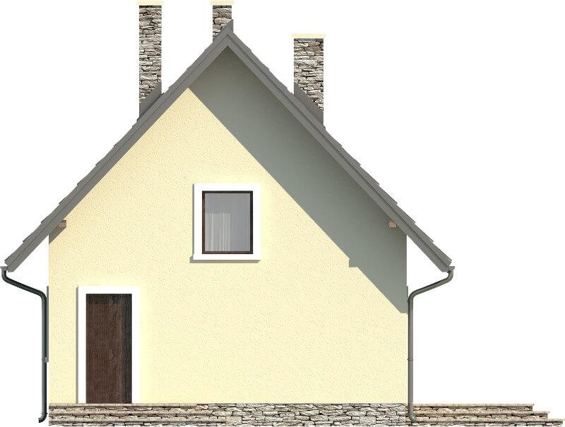 Projekt domu DM-6268 N - elewacja