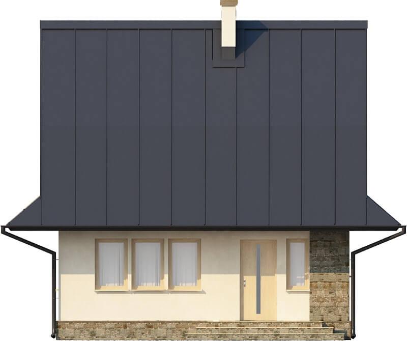 Projekt domu DM-6280 N - elewacja