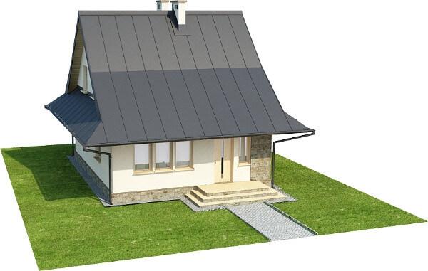 Projekt domu DM-6280 N - model