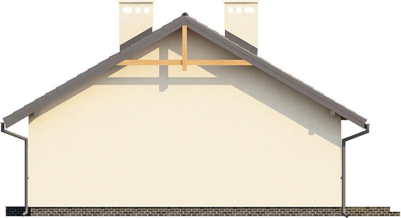 Projekt domu DM-6292 N - elewacja