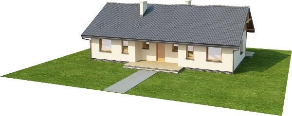 Projekt domu DM-6292 N - model