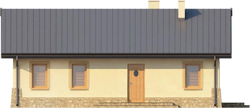 Projekt domu DM-6300 N - elewacja