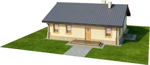 Projekt domu DM-6300 N - model