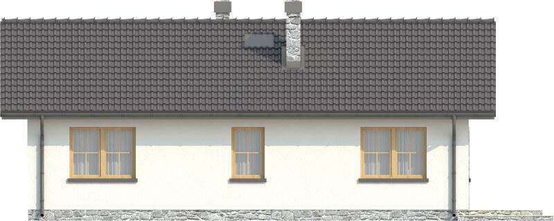 Projekt domu DM-6302 N - elewacja