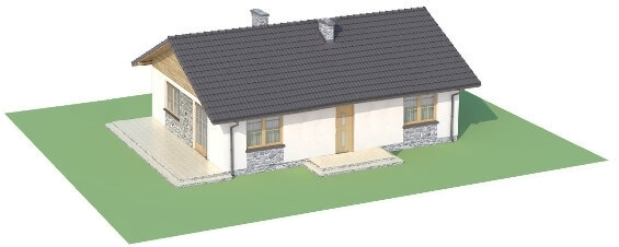 Projekt domu DM-6302 N - model