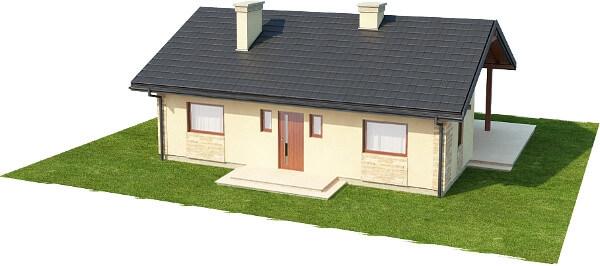 Projekt domu DM-6306 N - model