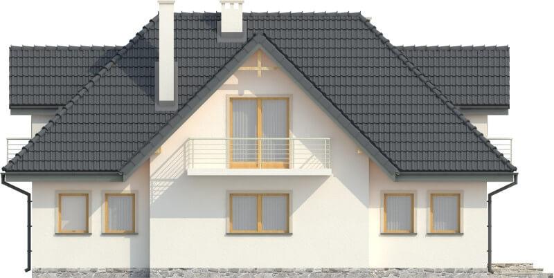 Projekt domu DM-6332 N - elewacja