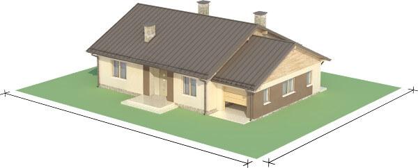 Projekt domu DM-6503 N - model