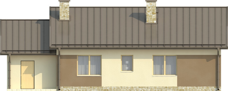 Projekt domu DM-6503 N - elewacja