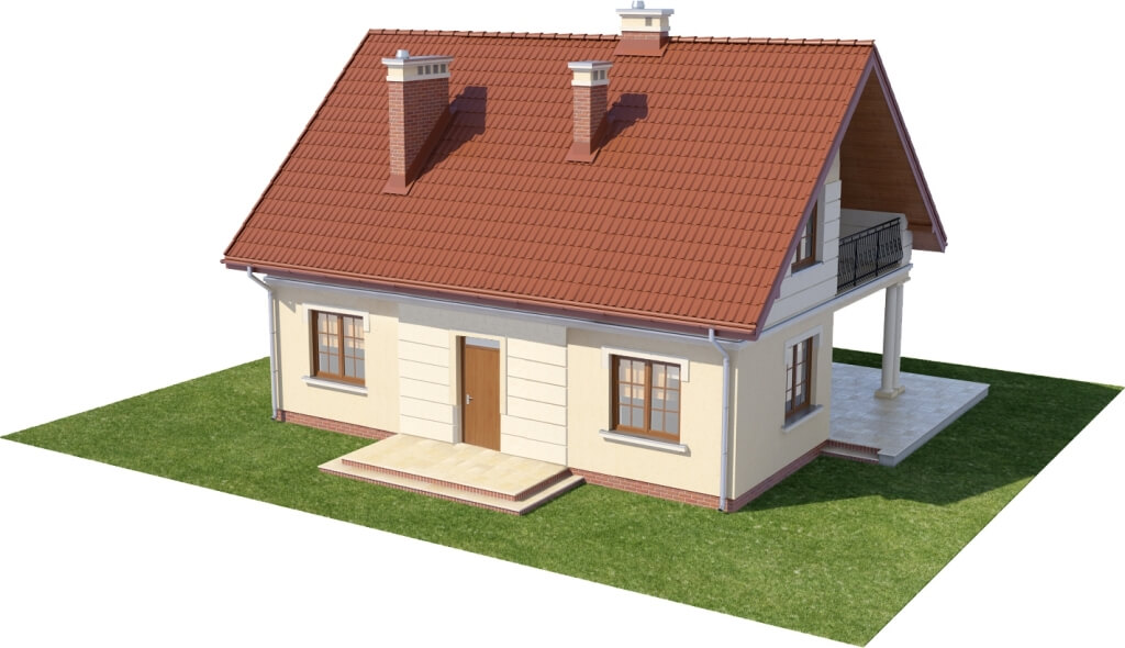 Projekt domu DM-6214 N - model