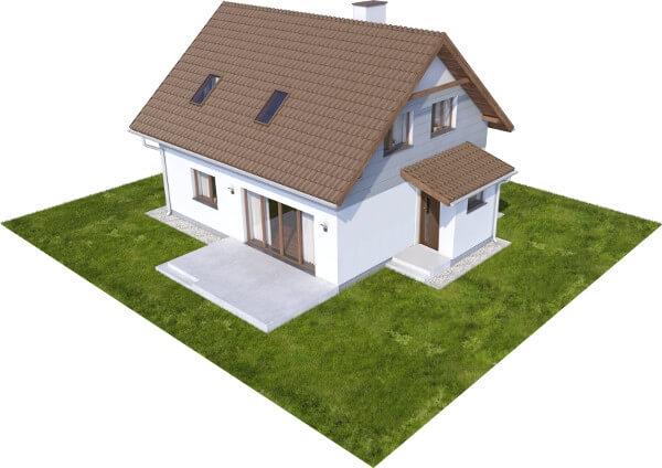 Projekt domu DM-6592 N - model
