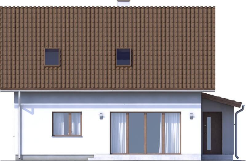 Projekt domu DM-6592 N - elewacja