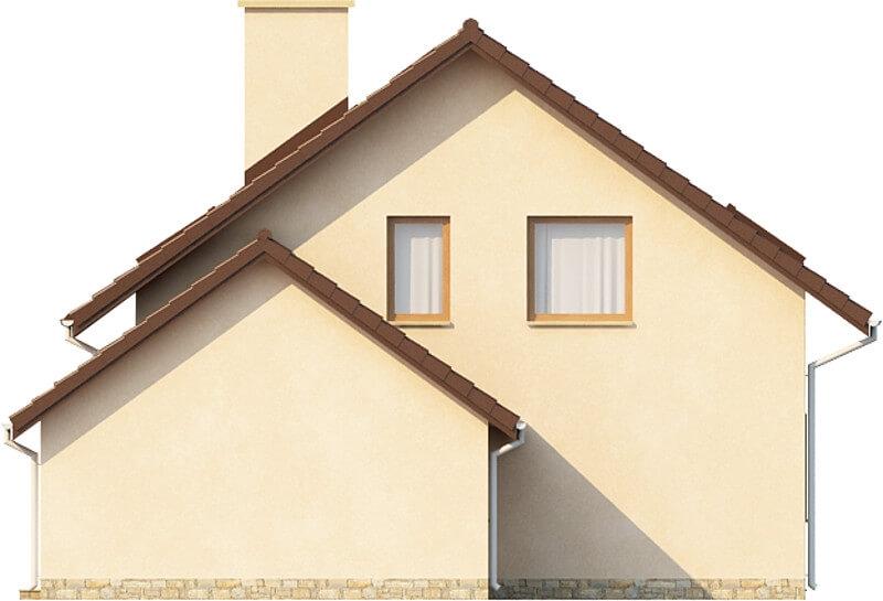 Projekt domu DM-6028 N - elewacja