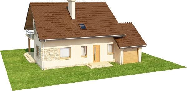 Projekt domu DM-6028 N - model