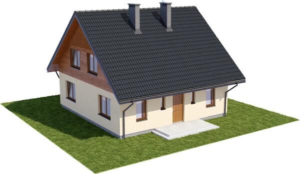 Projekt domu DM-6154 N - model
