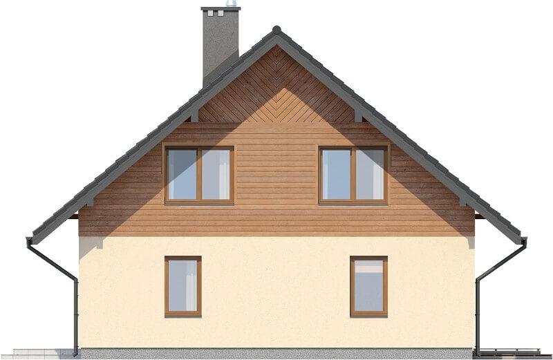 Projekt domu DM-6154 N - elewacja