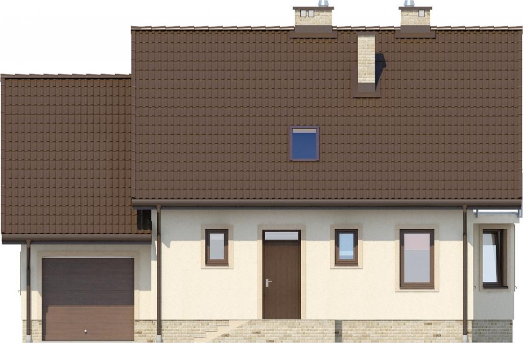 Projekt domu DM-6199 N - elewacja