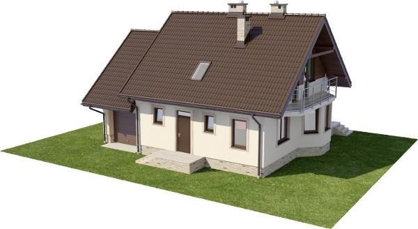 Projekt domu DM-6199 N - model