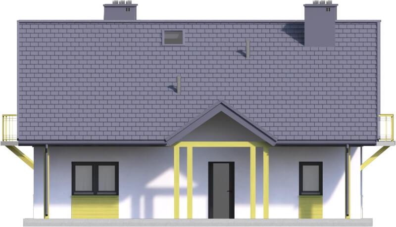 Projekt domu DM-6602 - elewacja