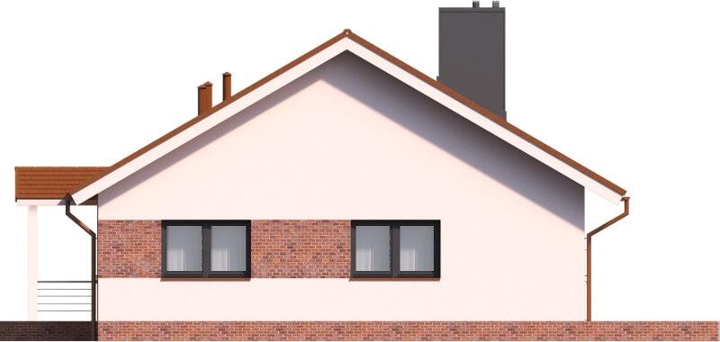 Projekt domu DM-6603 - elewacja