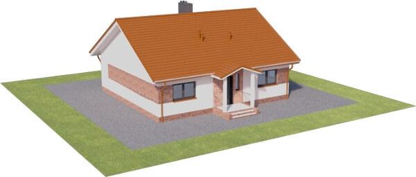 Projekt domu DM-6603 - model