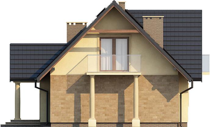 Projekt domu DM-6216 - elewacja