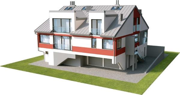 Projekt domu L-6504 - model