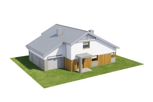 Projekt domu L-6564 - model