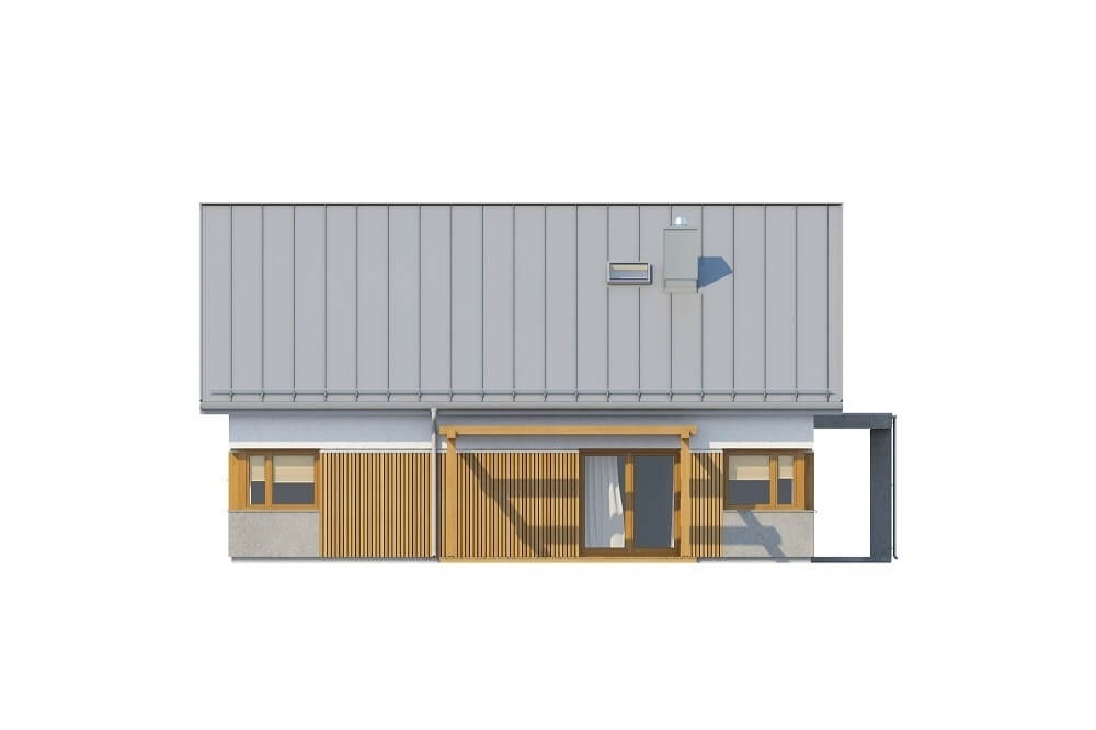 Projekt domu L-6564 - elewacja