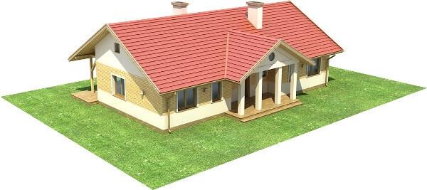 Projekt domu L-6583 - model