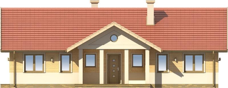 Projekt domu L-6583 - elewacja