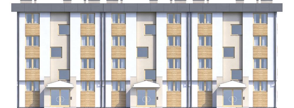 Projekt domu L-6590 - elewacja