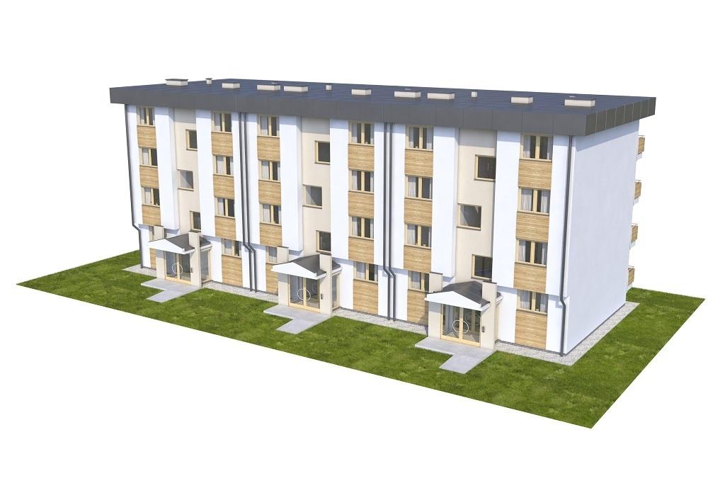 Projekt domu L-6590 - model