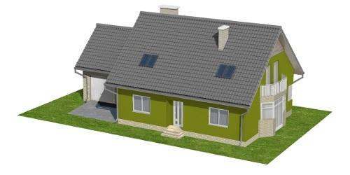 Projekt domu L-6577 - model