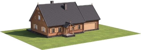 Projekt domu DM-6535 - model