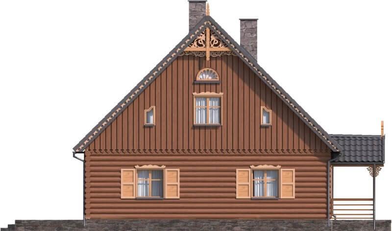Projekt domu DM-6535 - elewacja