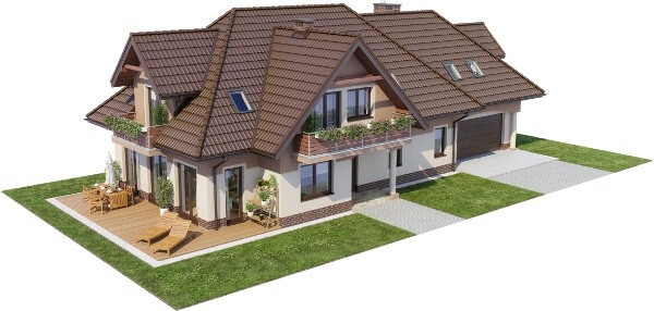 Projekt domu DM-6614 - model
