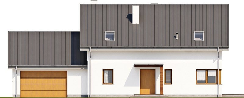 Projekt domu DM-6612 - elewacja