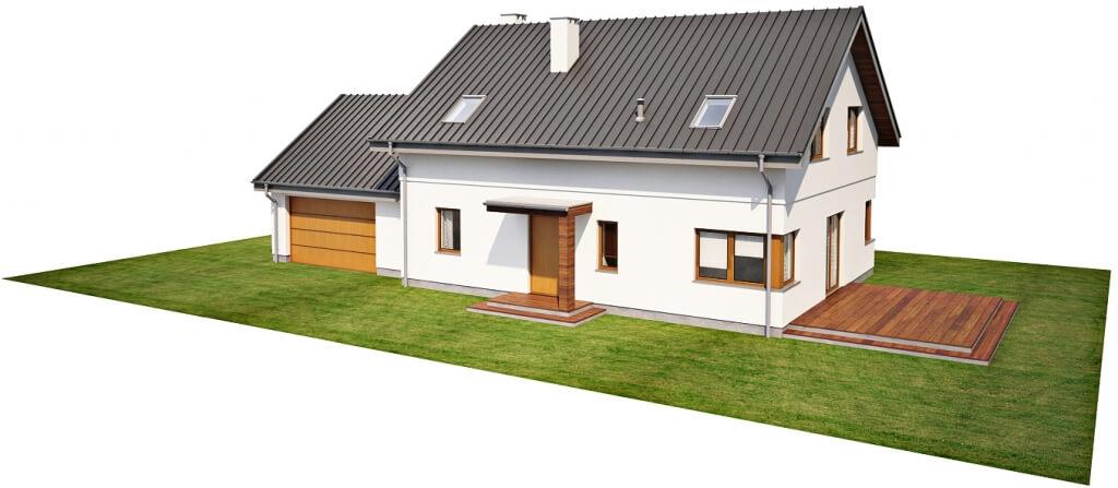 Projekt domu DM-6612 - model