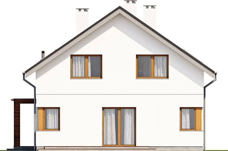 Projekt domu L-6612 - elewacja