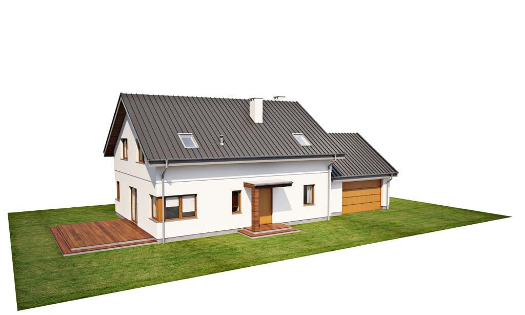 Projekt domu L-6612 - model