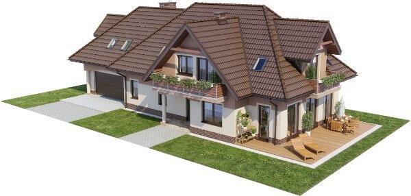 Projekt domu L-6614 - model