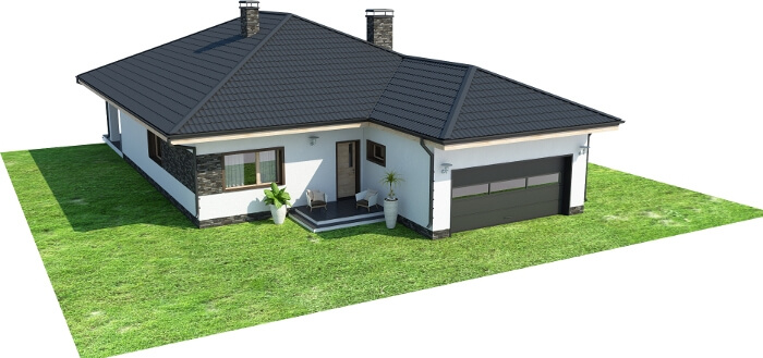 Projekt domu DM-6604 - model