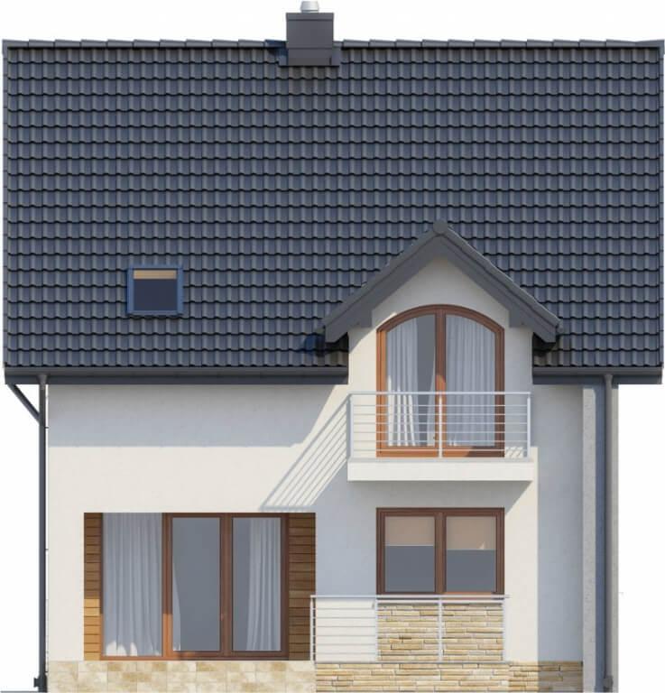 Projekt domu DM-6605 - elewacja