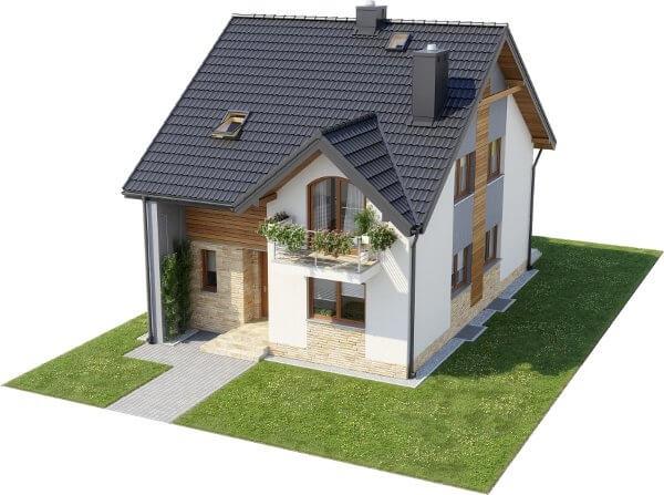 Projekt domu DM-6605 - model
