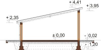Projekt ZG-97 - przekrój