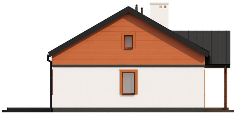 Projekt domu DM-6591 - elewacja