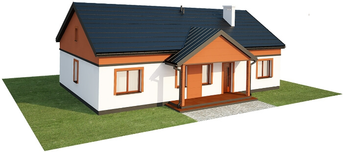 Projekt domu DM-6591 - model